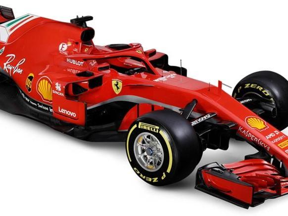 Ecco la SF71H, la nuova Ferrari di Formula 1