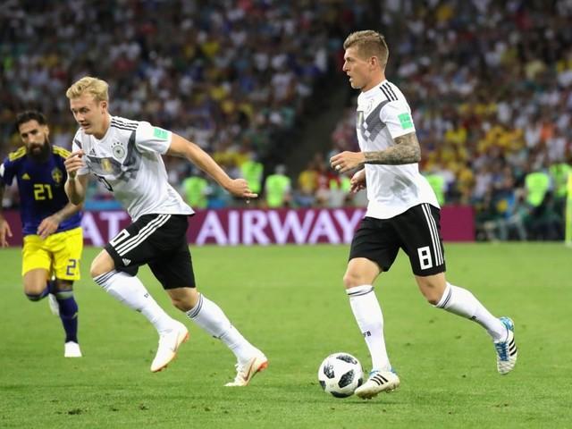 Ascolti tv: 5,6 milioni di telespettatori per «Germania-Svezia»
