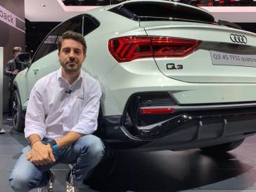 Audi Q3 Sportback in video dal Salone di Francoforte 2019