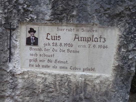 La disperata fuga del killer di Amplatz