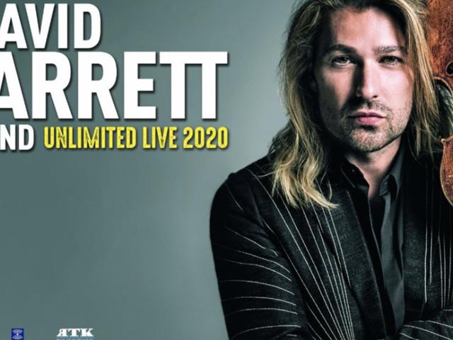 David Garrett in Italia nel 2020, da Bolzano e Milano a Bologna e Genova: prezzi biglietti in prevendita