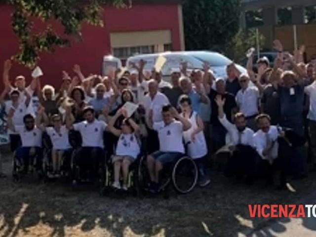 """I """"progetti del cuore"""" realizzano un mezzo per i cittadini di Montecchio Maggiore"""