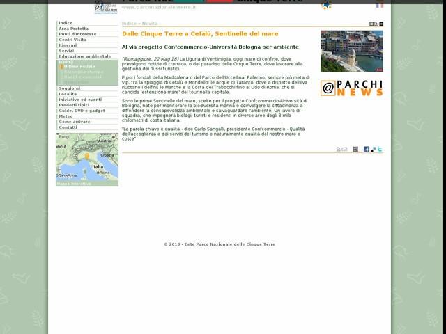 PN Cinque Terre - Dalle Cinque Terre a Cefalù, Sentinelle del mare