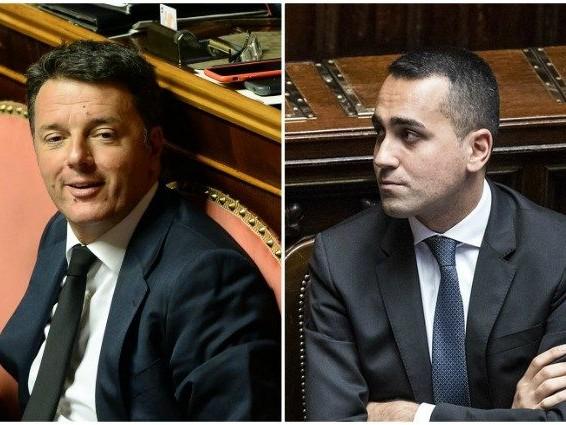 """Governo, l'appello di Di Maio contro Renzi: """"Non bisogna rincorrere uno che ha il 4%"""""""