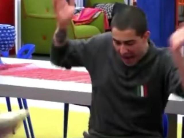 Un urlo e Tommaso Zorzi scappa via di corsa: cosa è successo al GF Vip