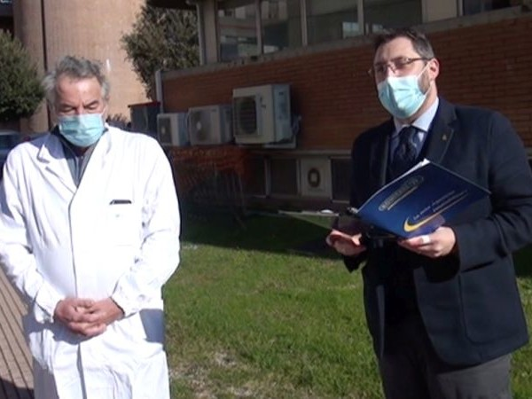 "Covid-19 Terni, il dottor Palumbo premiato col ""Leadership Award 2020"""