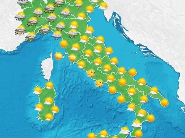 Altri temporali in arrivo al Nord, imminente rinfrescata anche al Sud entro Sabato