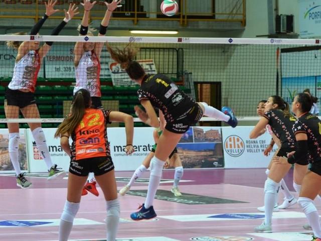 Tonfo della Roana CBF: pesante sconfitta casalinga contro Montecchio