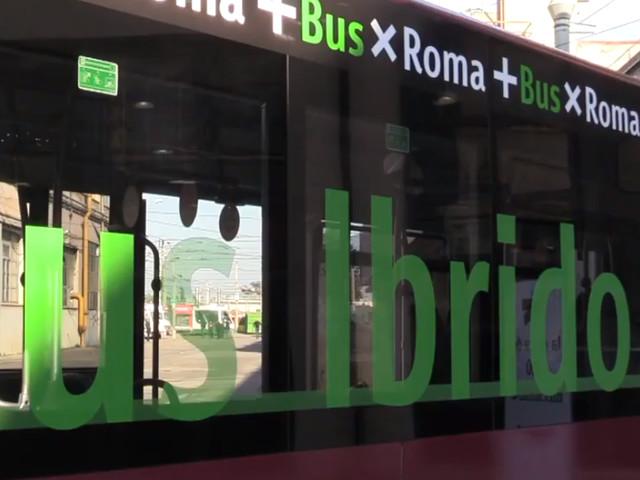 Campidoglio, presentato primo bus ibrido della nuova flotta Atac