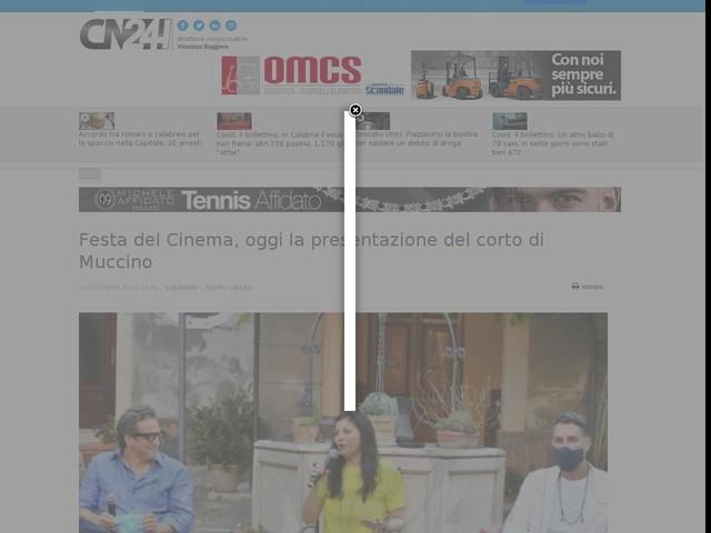 Festa del Cinema, oggi la presentazione del corto di Muccino