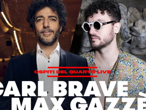 Carl Brave e Max Gazzè cantano Posso in anteprima a X Factor 12: video e testo del nuovo singolo