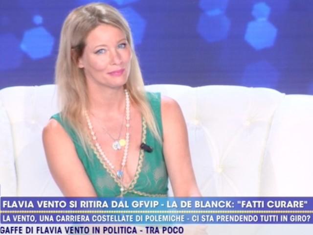 "FLAVIA VENTO, RETROSCENA SU ADDIO GRANDE FRATELLO/ ""C'entra Elisabetta Gregoraci?"""