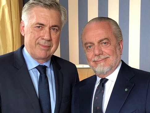 CdS – Incontro tra De Laurentiis, Ancelotti e staff medico: confronto prima del tour de force
