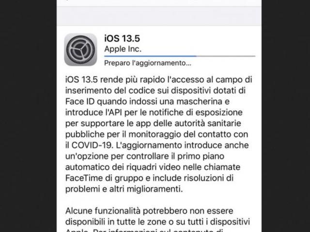 Arriva l'aggiornamento Apple e Google per l'app anti-coronavirus