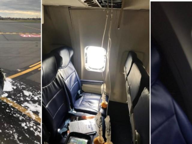 Il motore di un aereo di linea esplode durante il volo, a bordo 143 passeggeri