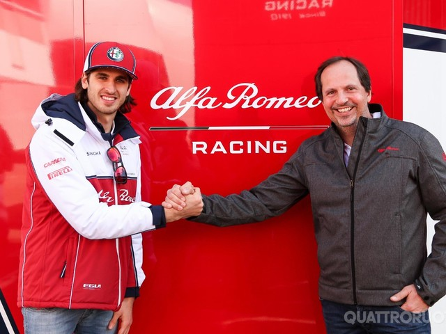 Formula 1 - Cristiano Fiorio (FCA): Vi sorprenderemo con lAlfa Romeo
