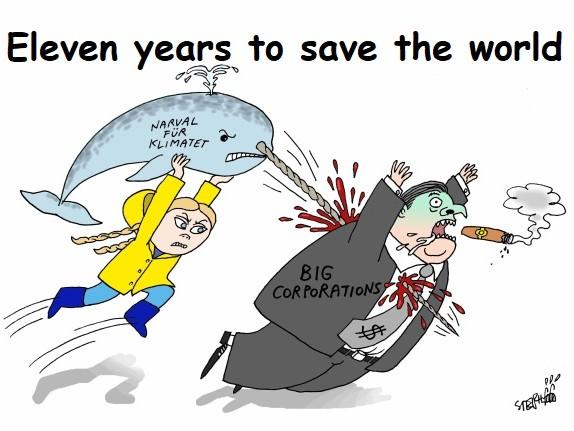 Potremmo davvero avere solo 11 anni per salvare il mondo
