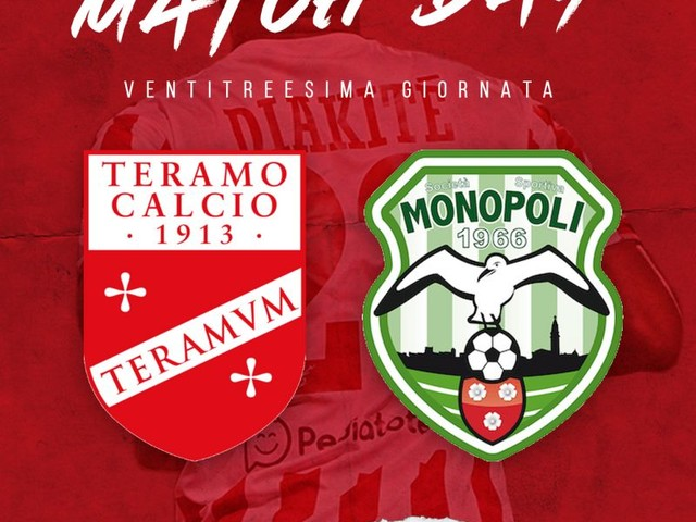 Serie C – Teramo Monopoli parziale 1 – 1
