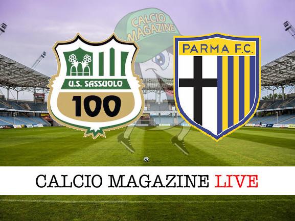 Sassuolo – Parma: cronaca diretta live, risultato in tempo reale