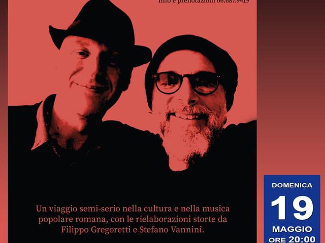 """@TeatroArciliuto – Domenica 19 maggio 2019 nel Salotto Musicale GREGORETTI & VANNINI presentano """"Come te posso amà""""."""