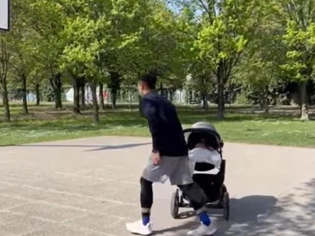 Il pick&roll speciale di papà e figlioletta: da Mestrino al web passando per il campetto