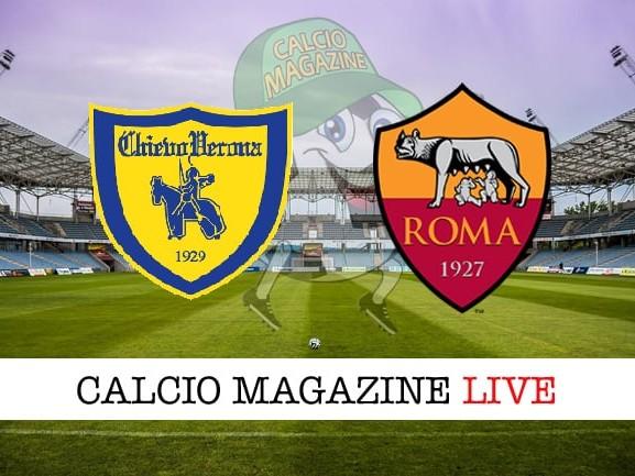Chievo-Roma cronaca diretta, risultato in tempo reale