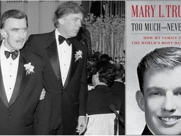 """Il libro di Mary Trump: """"Zio Donald è così per colpa degli abusi del padre"""""""
