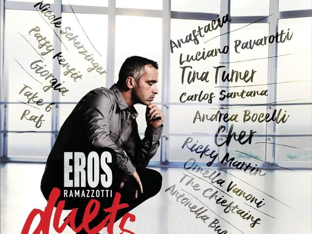 Eros Ramazzotti: dal 17 novembre l'album coi duetti più prestigiosi della sua carriera
