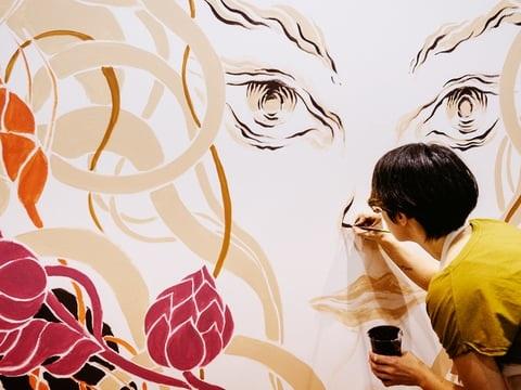 L'innocenza perduta nei disegni di Jin Xingye