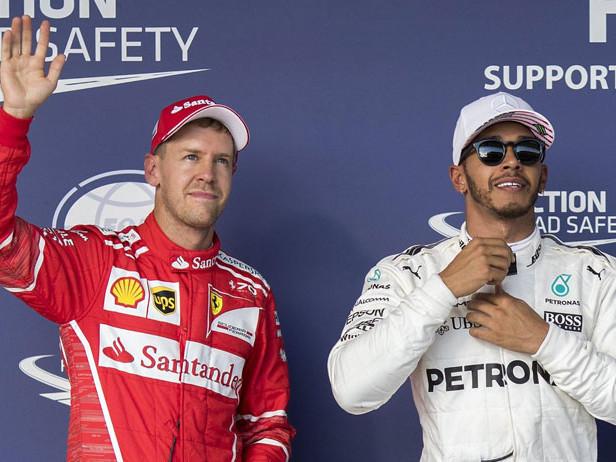 Hamilton e Vettel, un capolavoro per due
