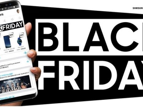 Sconti Black Friday 2017 con Samsung Italia: codice coupon per prezzo Galaxy S8 e S7 Edge