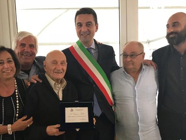 Montesilvano, Vincenzo Febbo compie 100 anni
