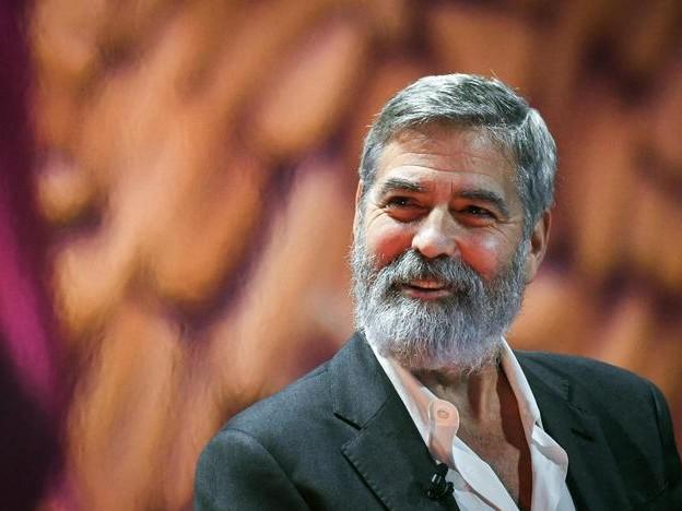 Clooney, l'italiano dei nostri gemelli un'arma contro di noi