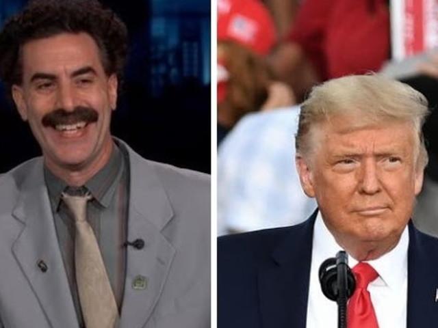 """Trump: """"Baron Cohen? Non è divertente, è un verme"""""""