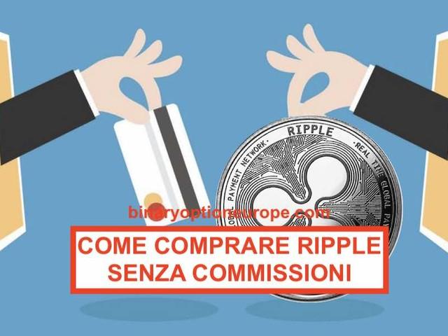 Come comprare Ripple coin con euro in Italia senza commissioni [2021]