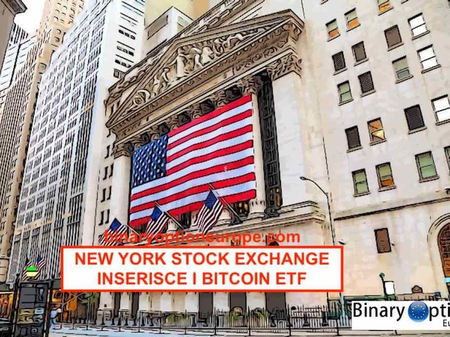 New York Stock Exchange quota i Bitcoin Futures ETF [guida]