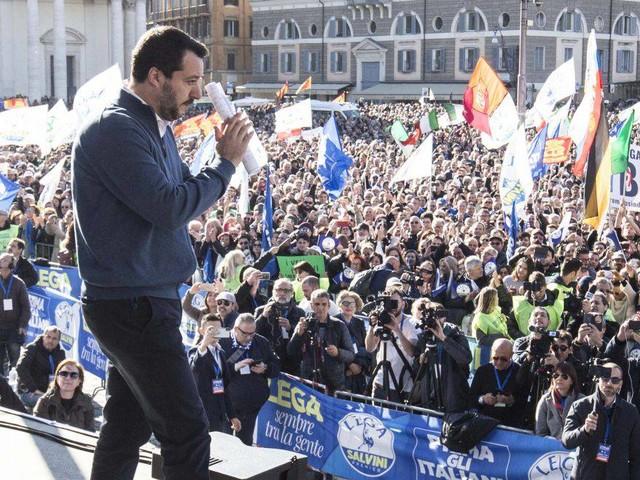 Roma 'blindata' per la manifestazione della Lega: strade chiuse e bus deviati