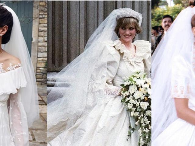 Gli abiti da sposa delle principesse