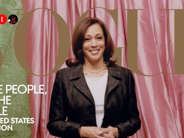 """Kamala Harris su Vogue, le critiche per la copertina: """"Irrispettosa"""""""