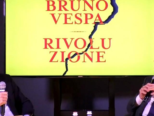 """Bruno Vespa presenta 'Rivoluzione': """"Matteo Salvini non staccherà la spina al governo"""""""