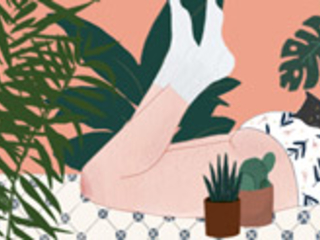 Vivere in armonia con la natura: le illustrazioni di Chloe Joyce