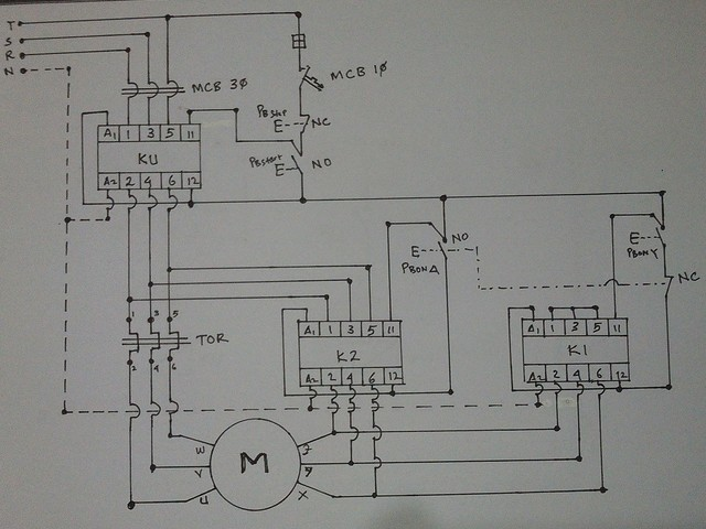Phase Motor Wiring Diagram Star Delta