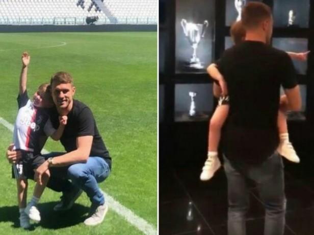 Ramsey, giornata da tifoso: tour dello Stadium