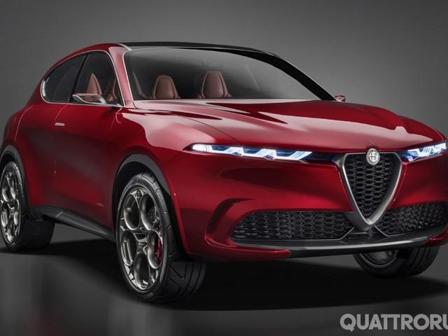 Alfa Romeo Tonale - La Suv sarà al Parco del Valentino