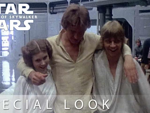 Star Wars: L'ascesa di Skywalker – ecco il commovente video celebrativo