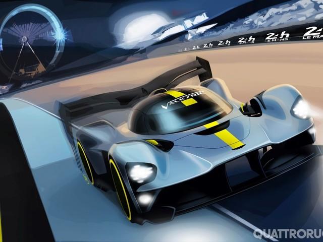 Aston Martin - La Valkyrie alla 24 Ore di Le Mans del 2021