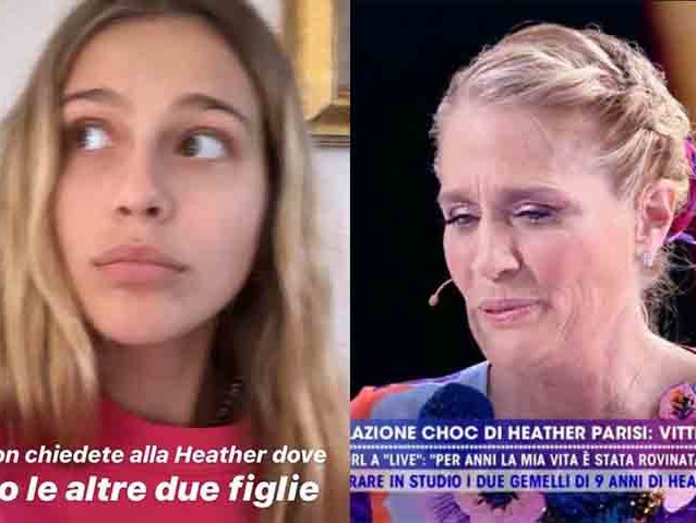 Jacqueline Luna, figlia Heather Parisi contro la madre dopo Live Non è la d'Urso – VIDEO