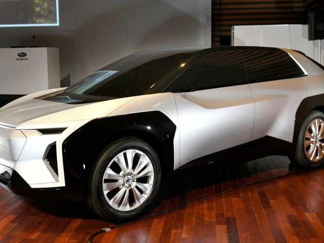 Subaru, il concept del crossover elettrico