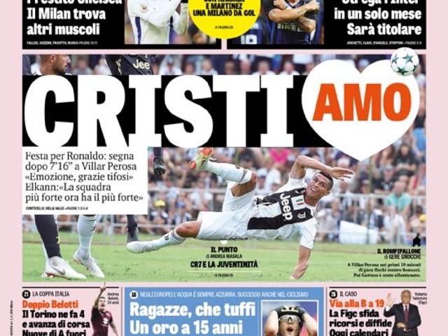 Gazzetta dello Sport – Lautaro strega l'Inter in un solo mese Sarà titolare