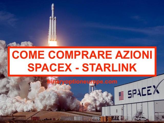 Dove e come comprare azioni SpaceX [2021] Grafico Nasdaq Starlink
